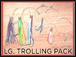 Trolling Lure Pack - 4 Line Spread